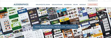 Honlapkészítés, weboldal készítés